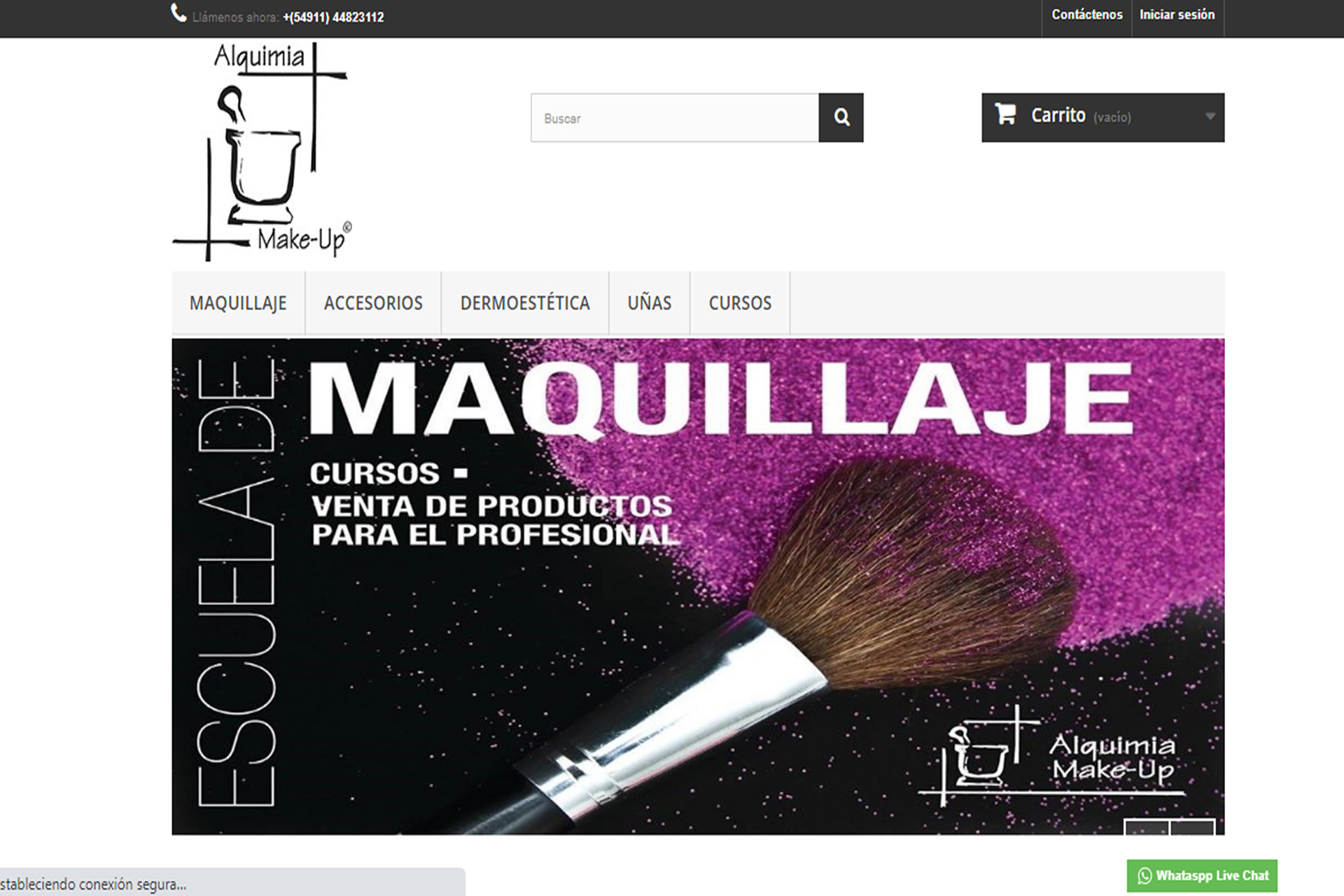 Website Alquimiamakeup